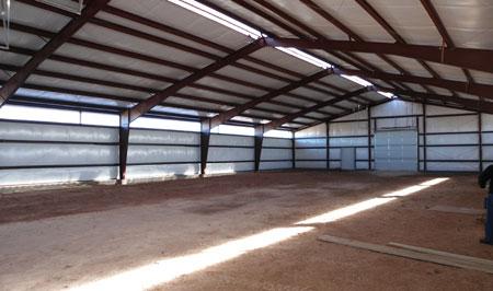 Steel Building Arena